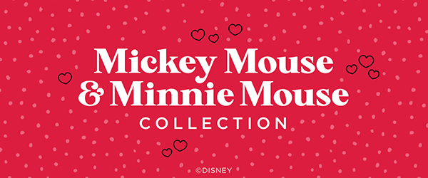 The ©Disney Mickey Mouse and Minnie Mouse Collection is Here!