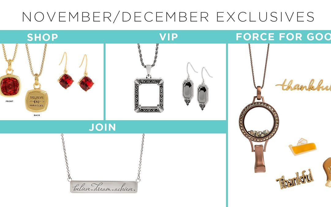 Earn. Gift. Give. Your November/December Monthly Exclusives