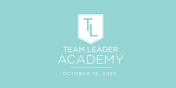 Save the Date: Team Leader Academy – October 19