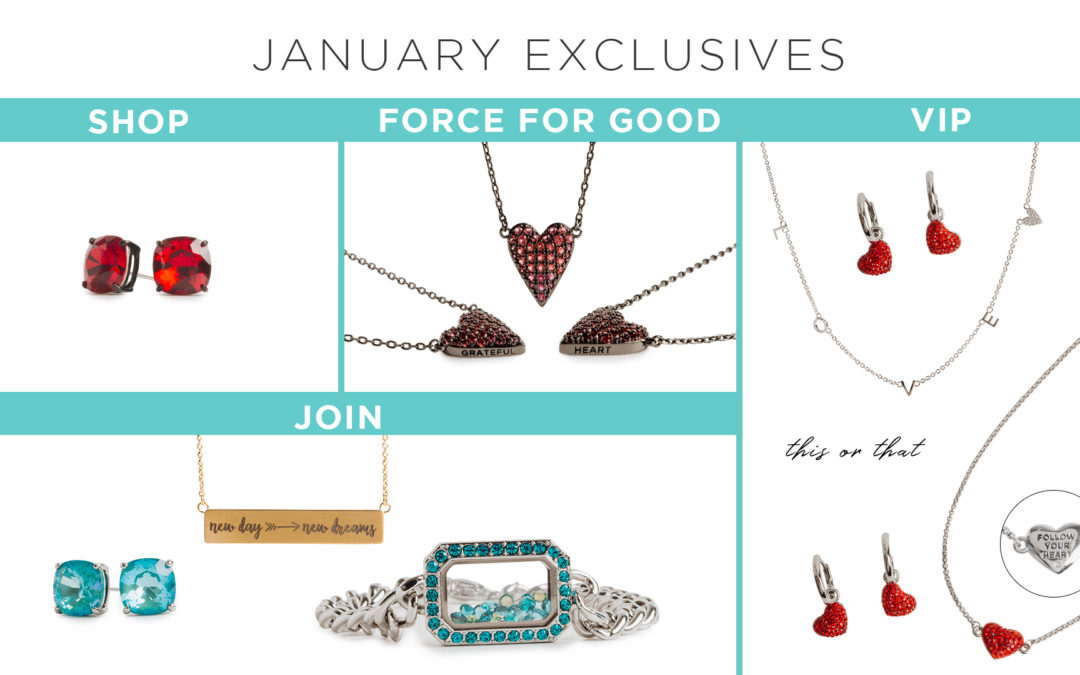 New Day → New Dreams January 2021 Monthly Exclusive Offers