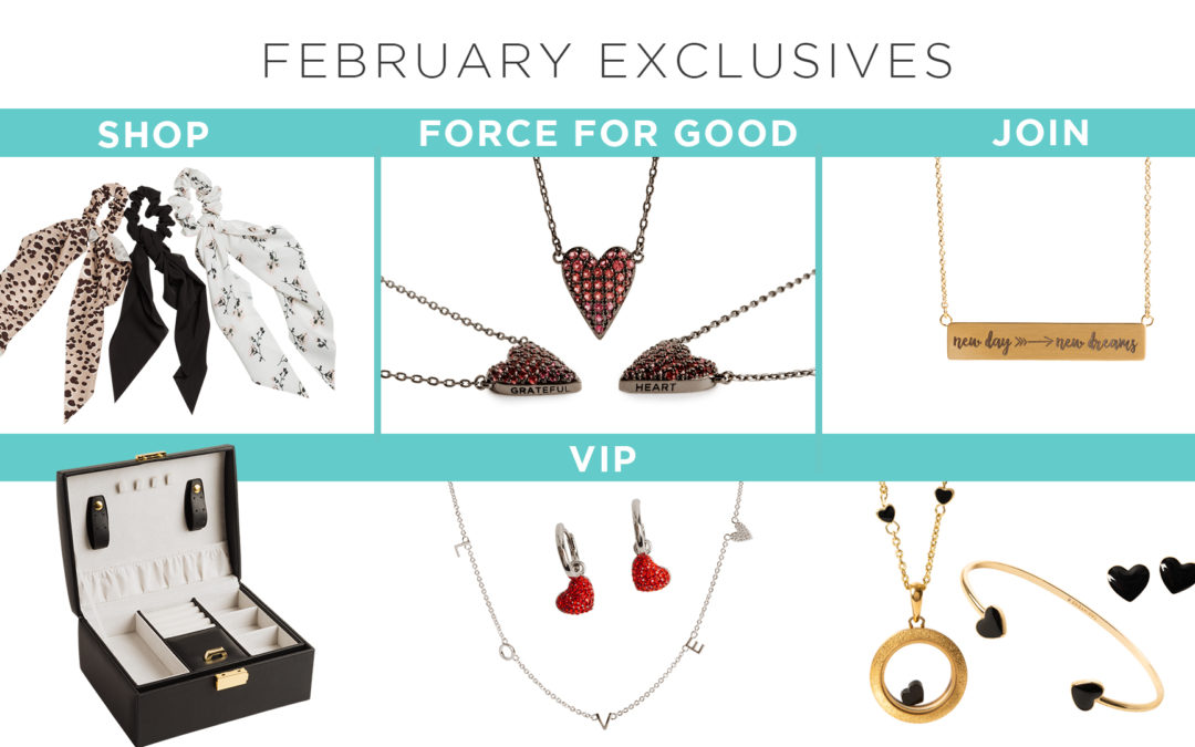 Spring Into 2021 with February Monthly Exclusives