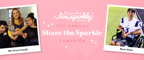 "Annual Live Sparkly® ""Share the Sparkle"" Recipients Revealed"
