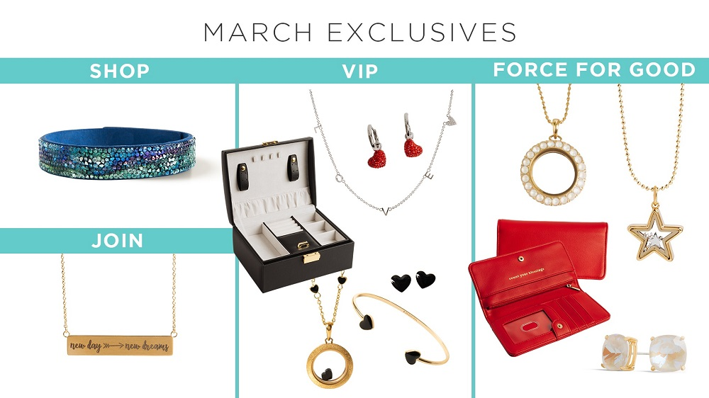 "Say, ""Hello, Spring!"" with Our March Exclusives"