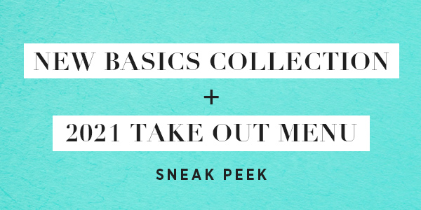 NEW! Basics Collection Designer Reveal + Presale Starts Today!