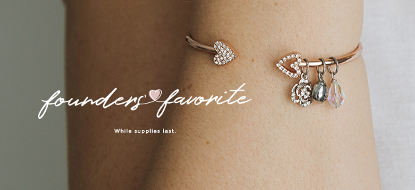 Exclusive Founders' Favorite Pendant Bangle Available While Supplies Last