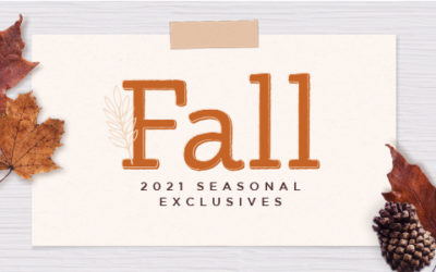 Fall 2021 Seasonal Exclusives Collection + Back to School Charms Now Available